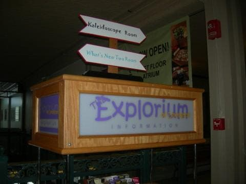 Restaurante en Explorium de Lexington