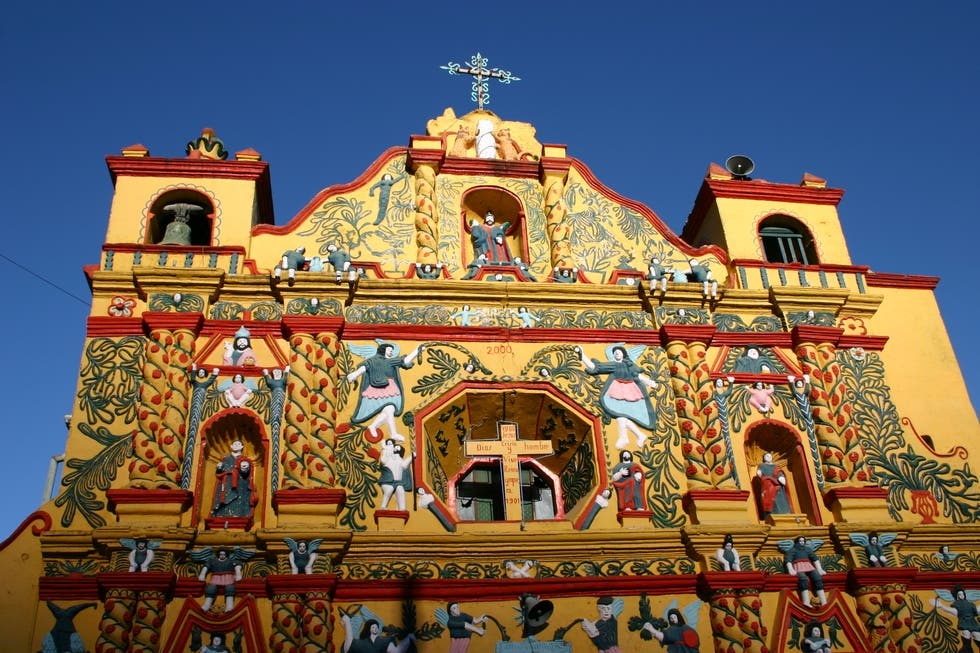 Temple in Totonicapán
