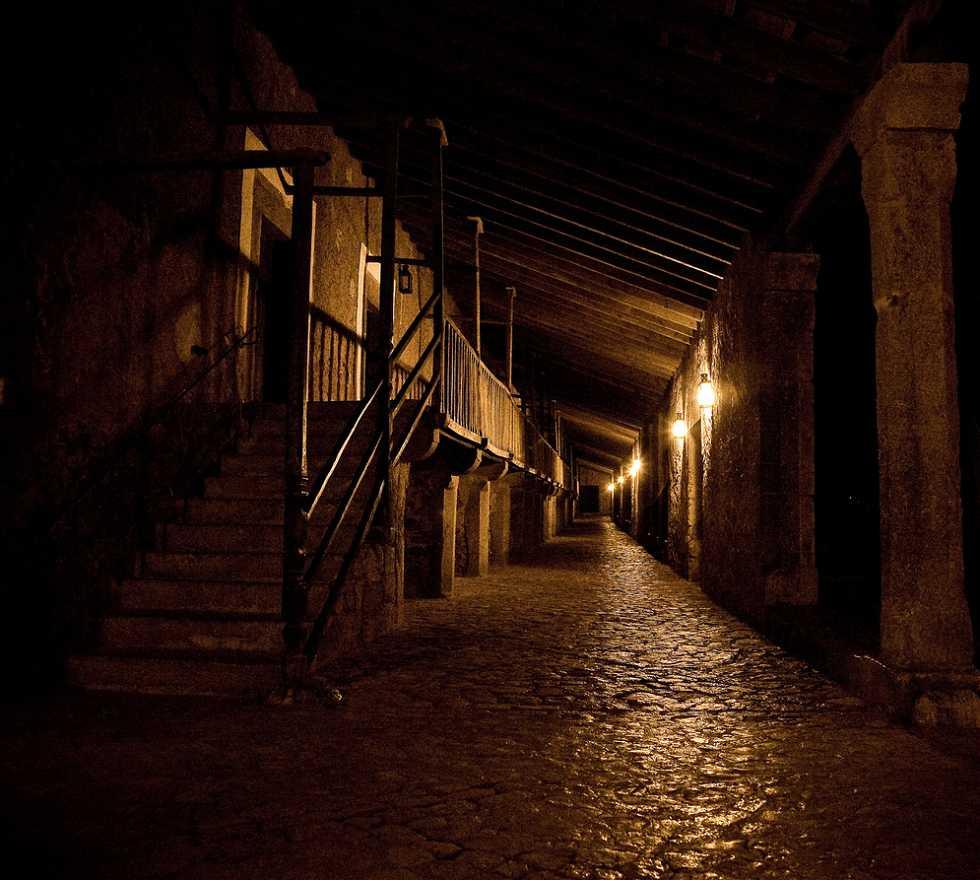Noche en Monasterio de Lluc