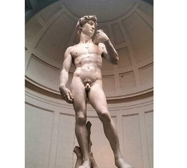 Bosquejo en Galería de la Academia de Florencia