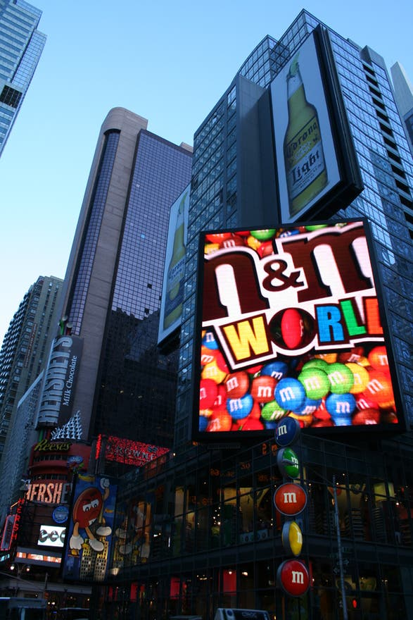 Anochecer en M&M'S World