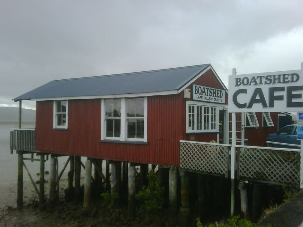 Casa Rural en Boatshed cafe