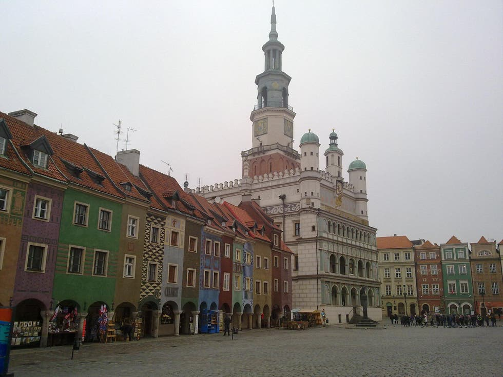 City in Poznan