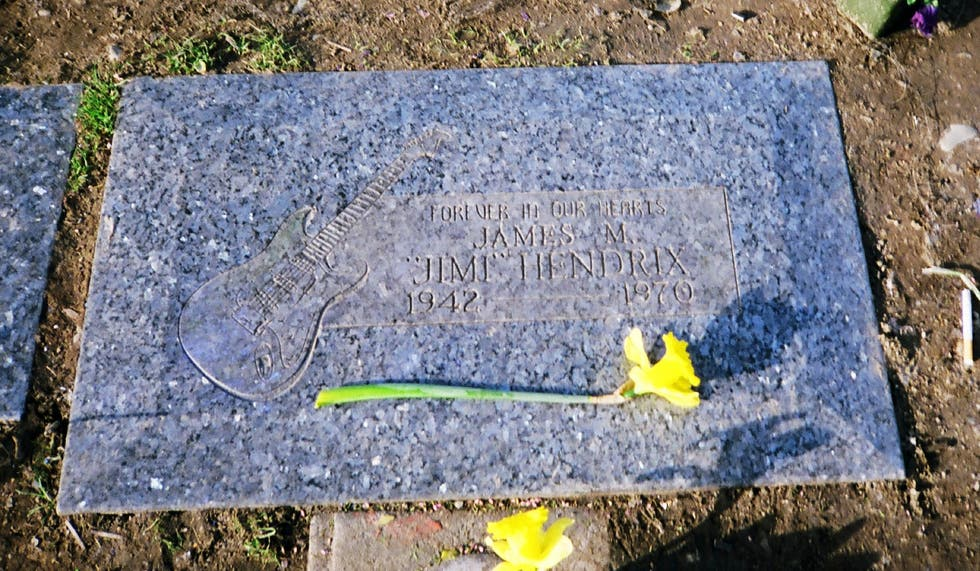 Headstone in Renton