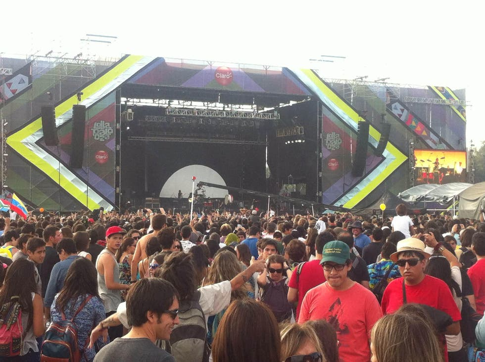 Multitud en Lollapalooza