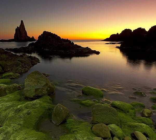 Reflejo en Cabo de Gata