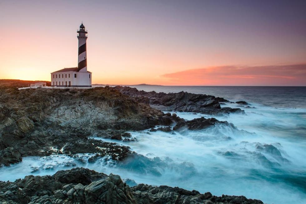 Lighthouse in Minorca