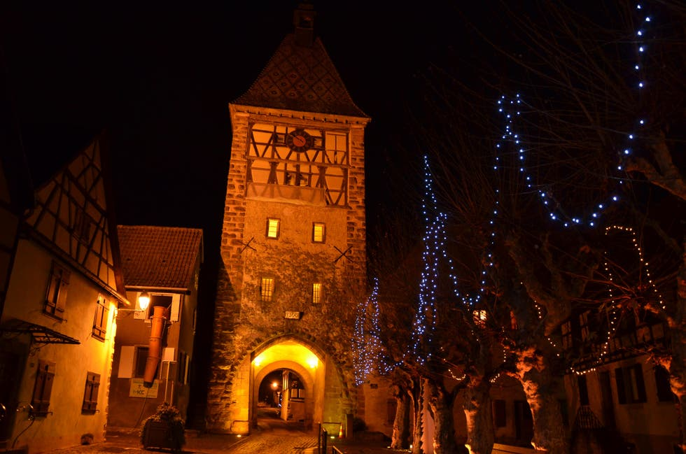 Night in Bergheim