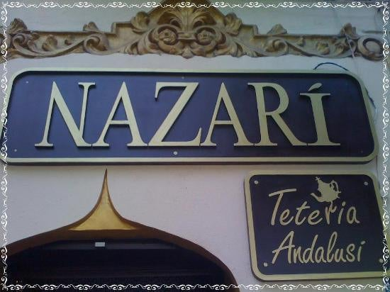Street Sign in Teteria Nazari