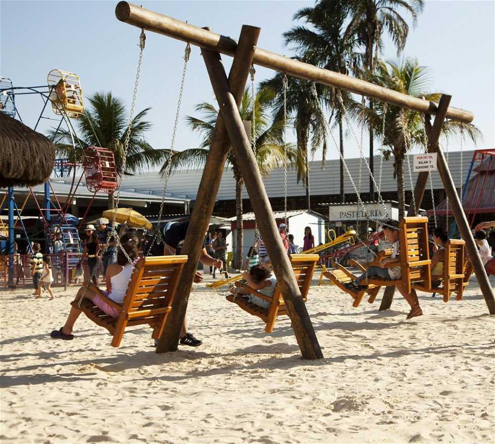 Parque infantil en Itu