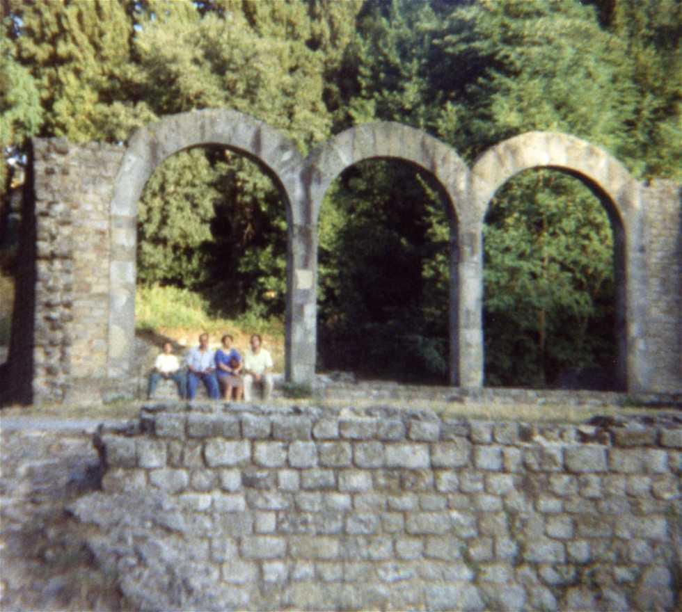 Acueducto en Museo arquelológico de Florencia