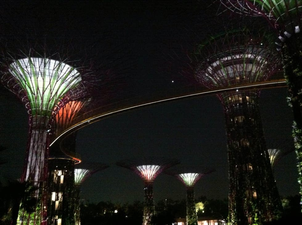 Ciudad en Gardens By The Bay