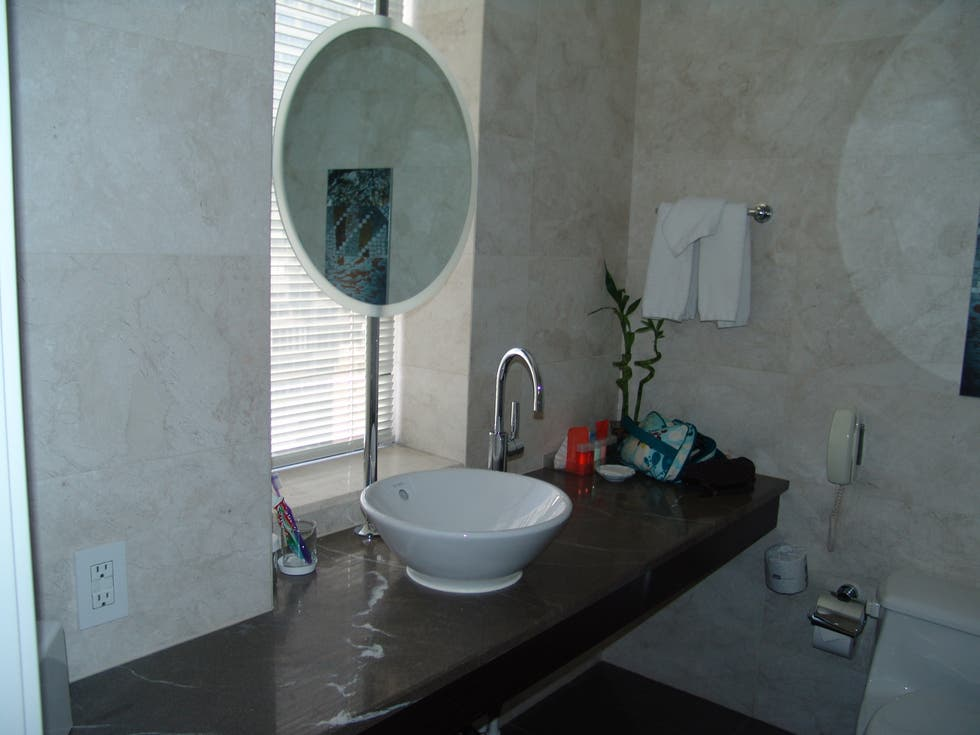 Baño del Jolly Hotel Madison Towers (plata 16)