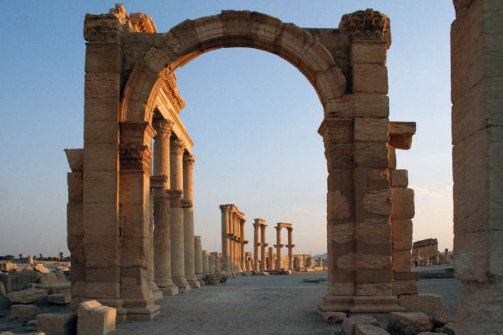 Arch in Syria