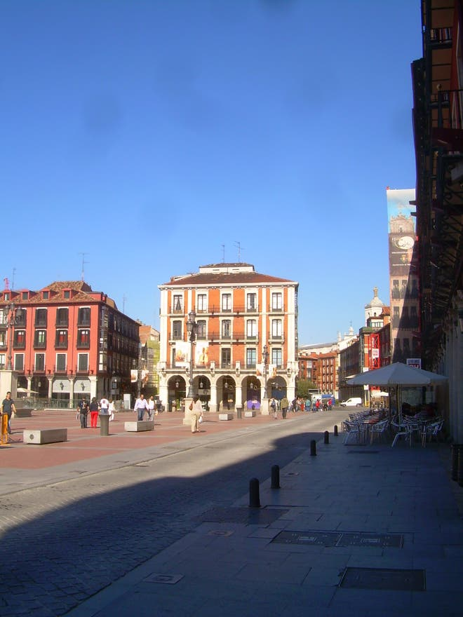 Anochecer en Plaza Mayor