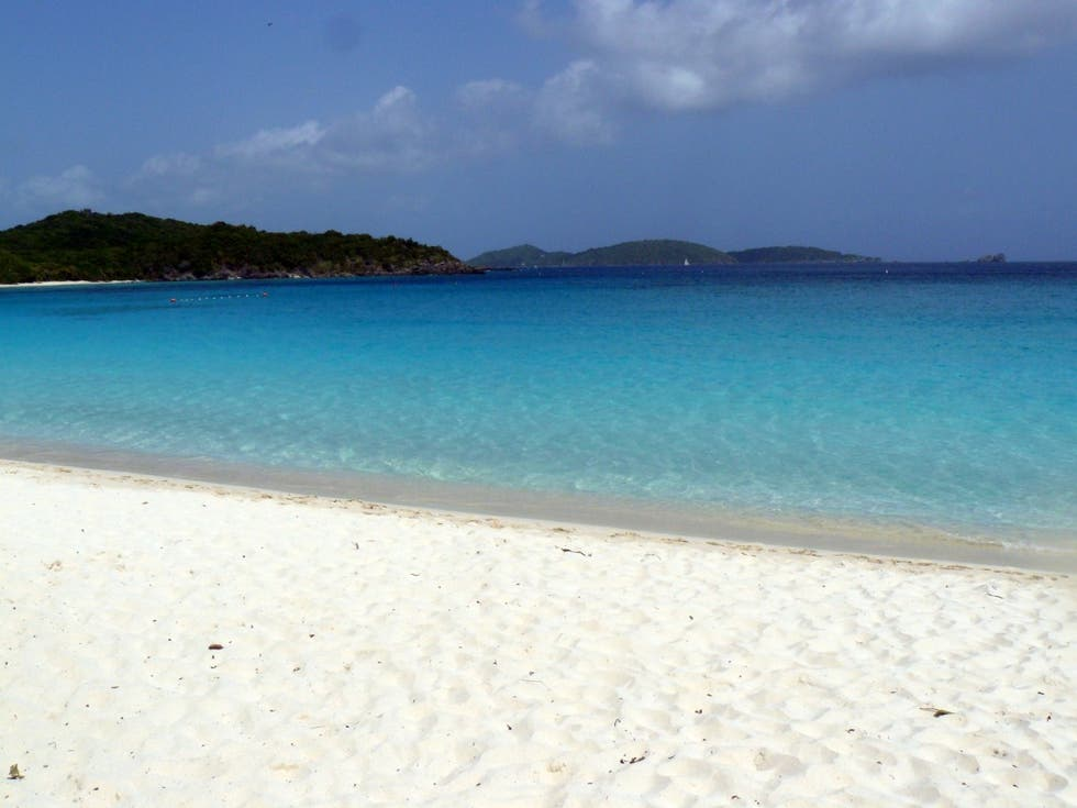 Azul en Trunk Bay