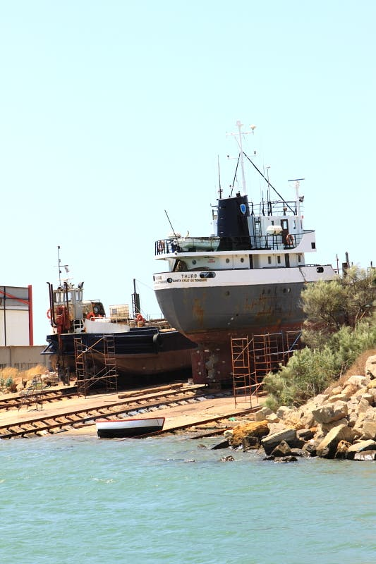 Photos of fishing port of barbate images for B liner fish