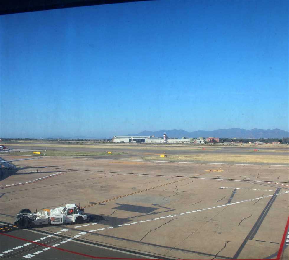 Pista de carreras en Aeropuerto de Cagliari