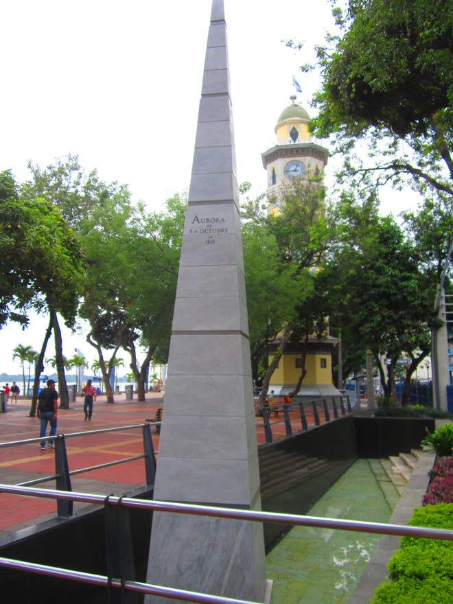 Memorial in Tosagua