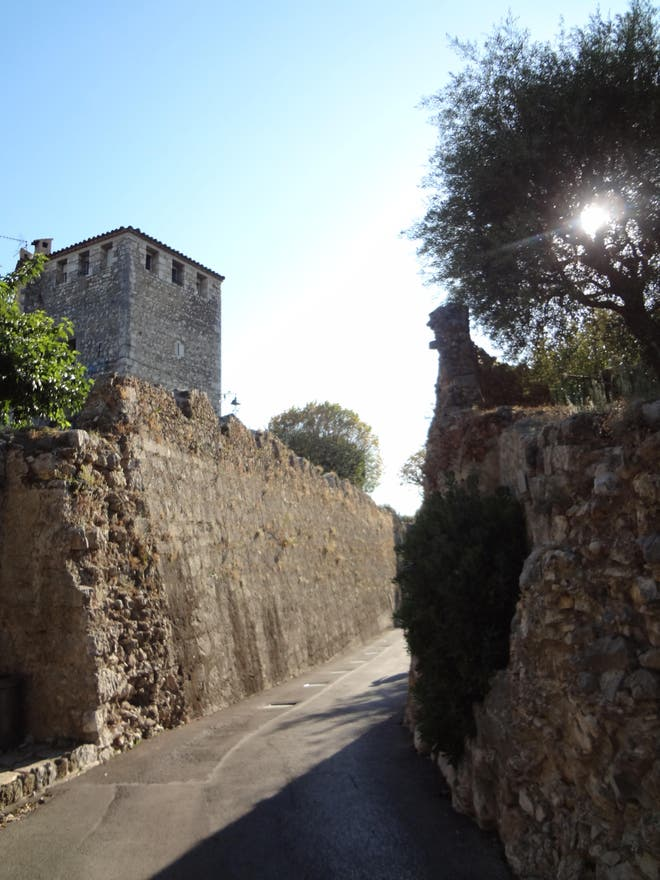 Pared en Les remparts de Saint Paul de Vence