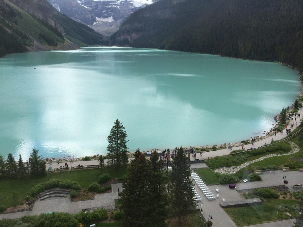Lago en Hotel Whitehorn Lodge, Lake Louise Ski Area
