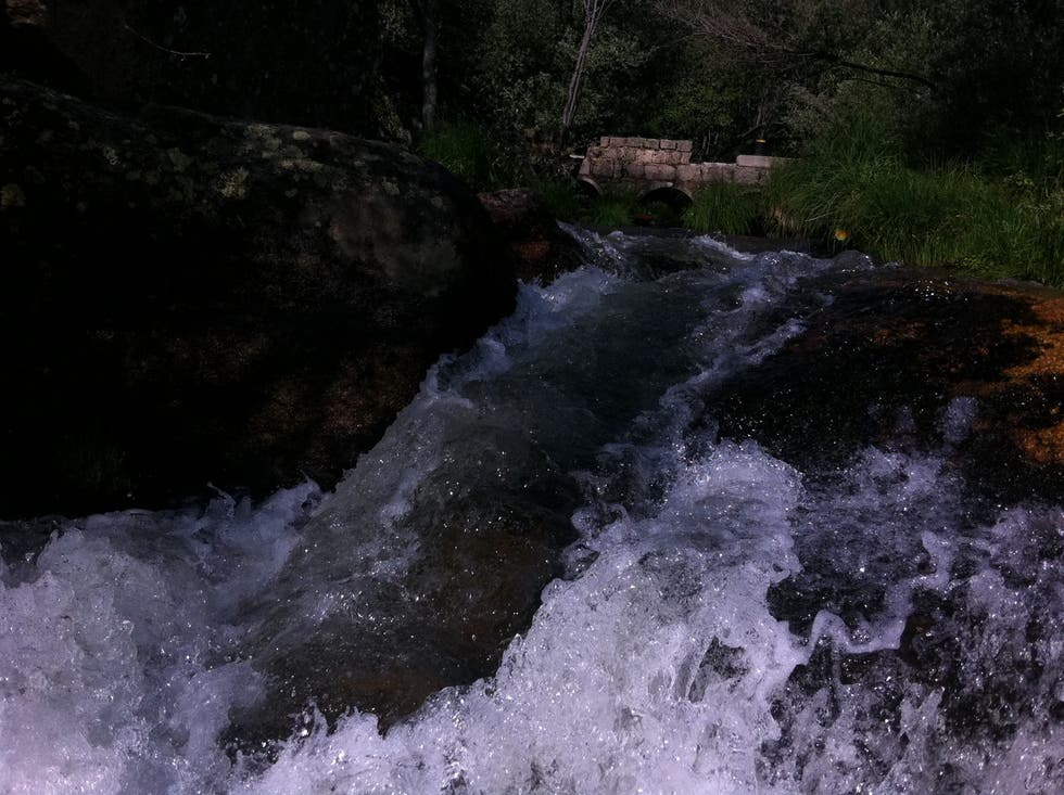 Rapid in Castillo de Bayuela