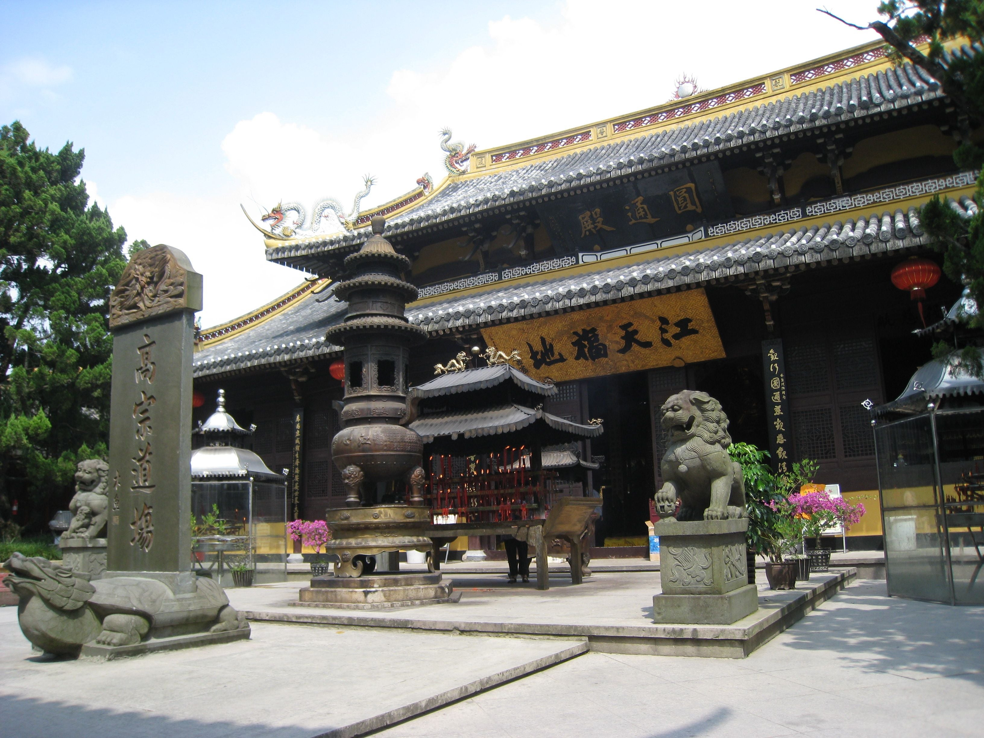 Temple in Wenzhou