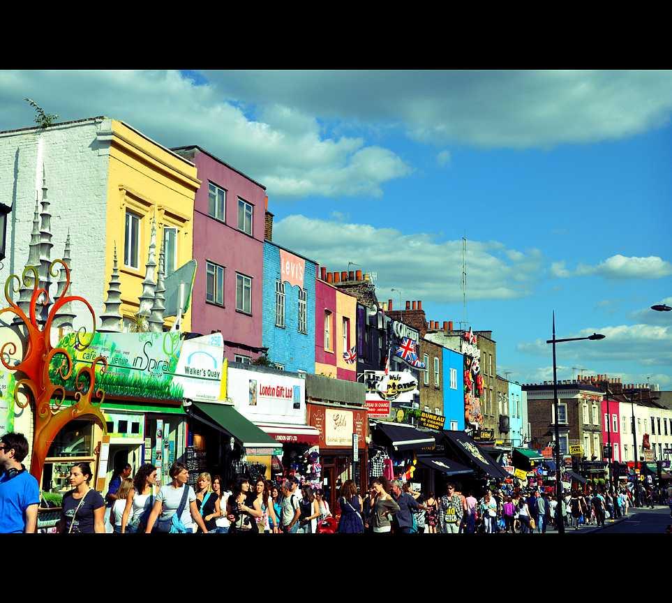 Panorámica en Camden Town
