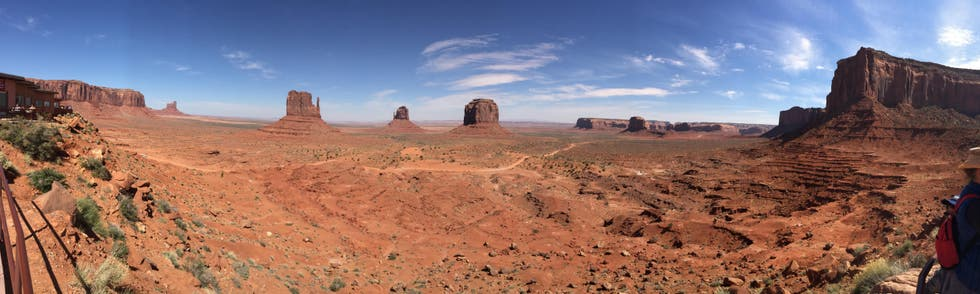 Butte en Monument Valley Navajo Tribal Park