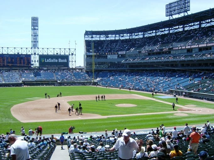 Estadio en U.S. Cellular Field