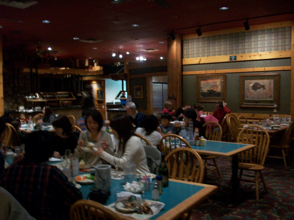 Conferencia en Cowboy's Buffet and Steak Room