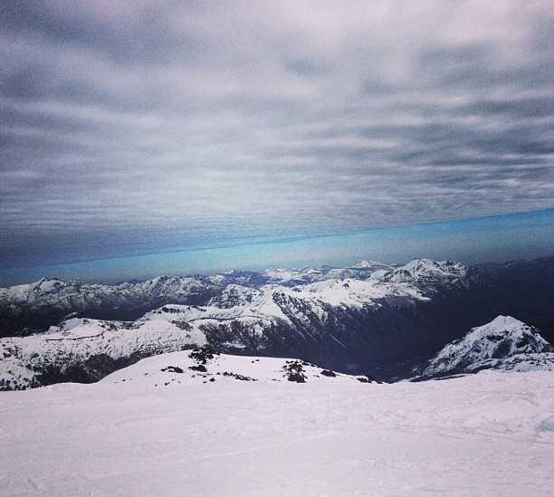 Reflejo en Nevados de Chillan