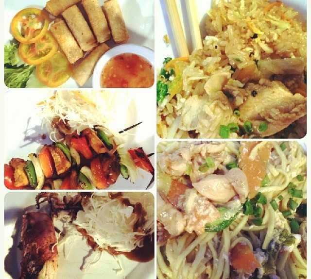 Comida en Lotus Blanc Restaurant