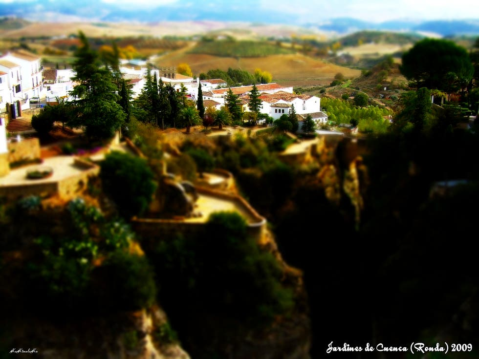 Photos of jardines de cuenca images for Jardin villa ronda