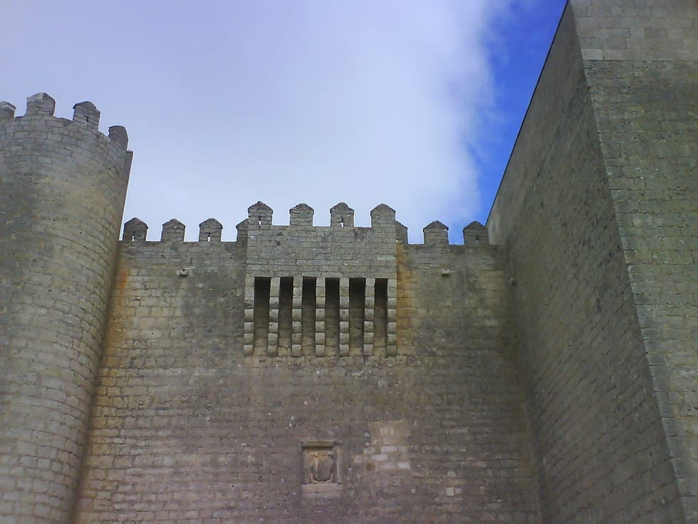 Pared en Castillo de Montealegre