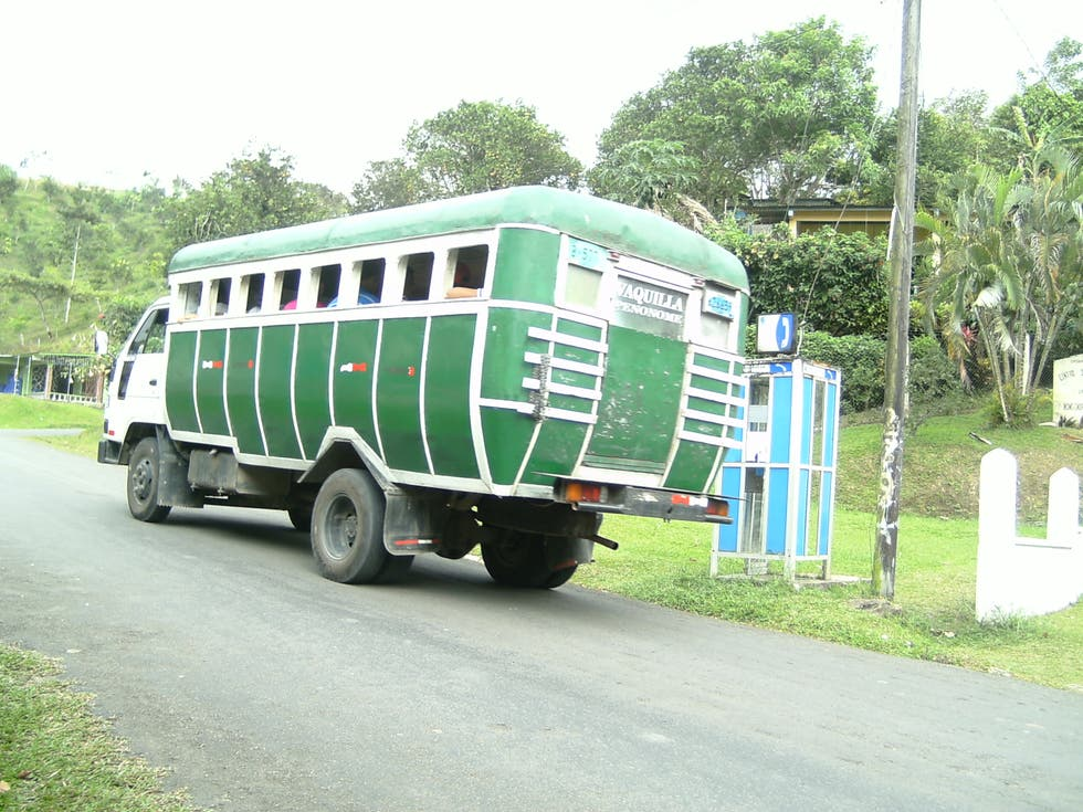 Vehicle in Chiguirí Arriba