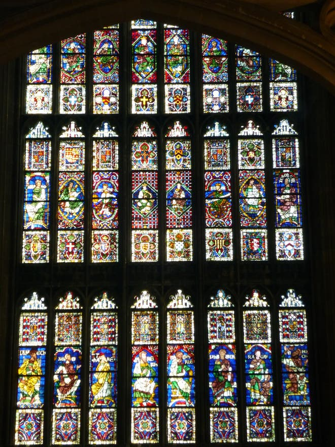 Stained Glass in Canterbury