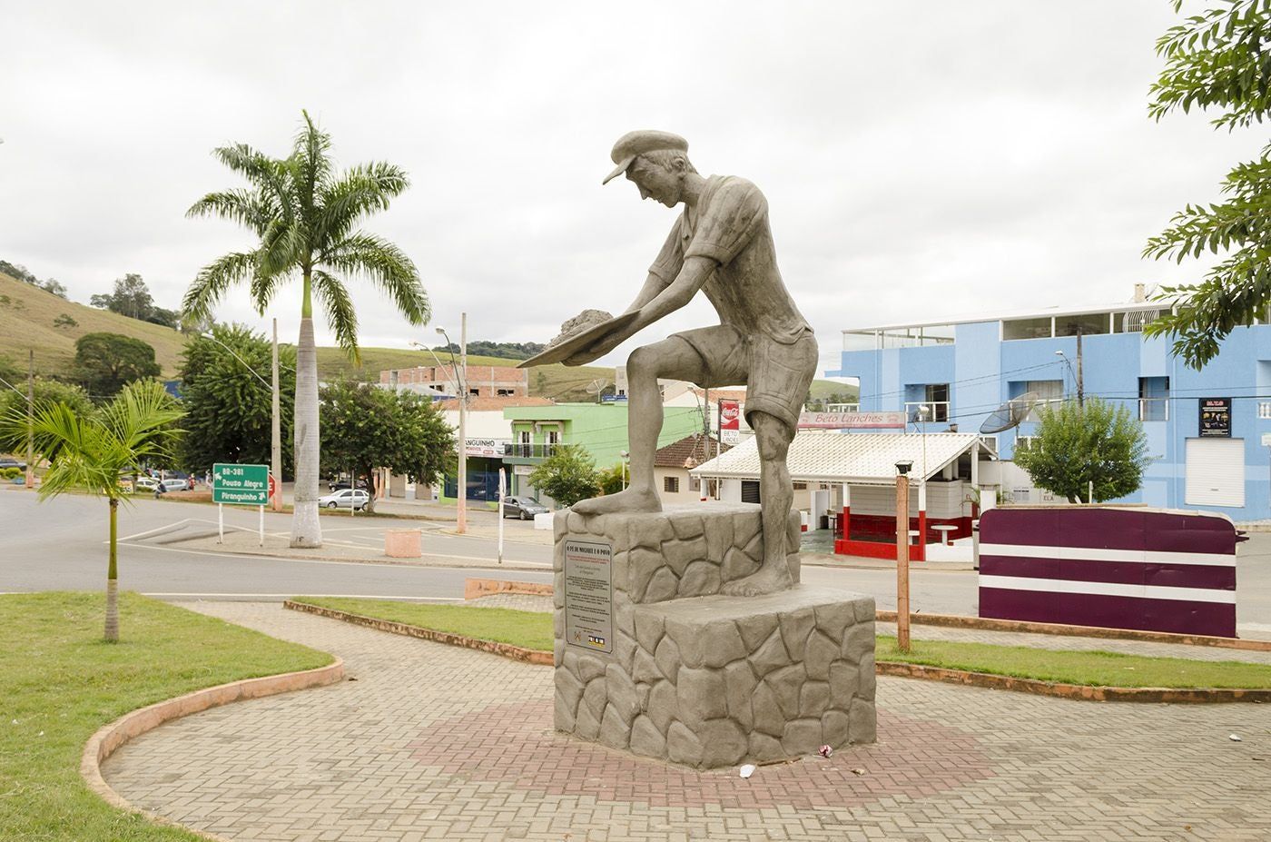 Plaza en Piranguinho