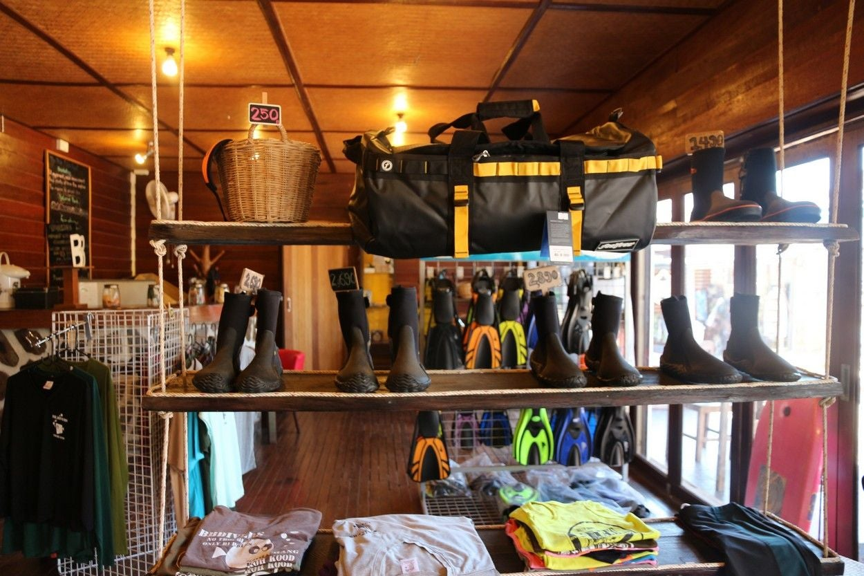Retail Store in BB Divers