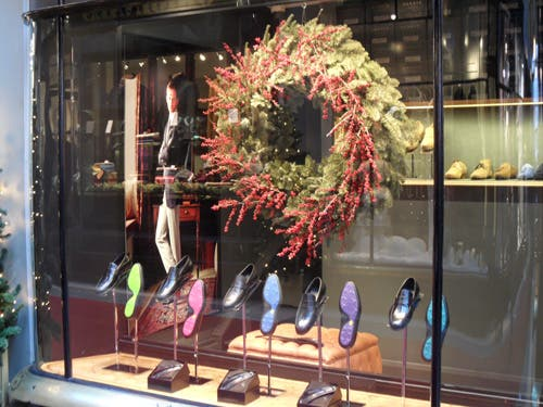Escaparate en Burlington Arcade
