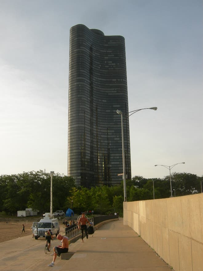 Arquitectura en Lake Point Tower
