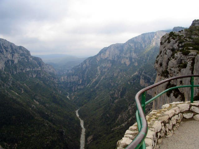 Mountain Pass in Moustiers-Sainte-Marie