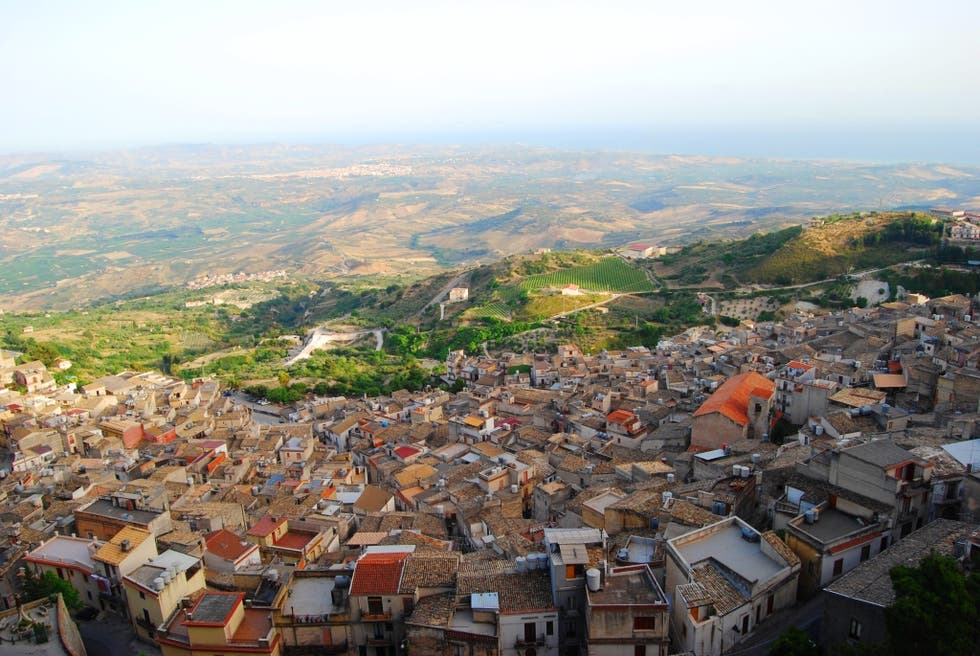 Aerial Photography in Caltabellotta