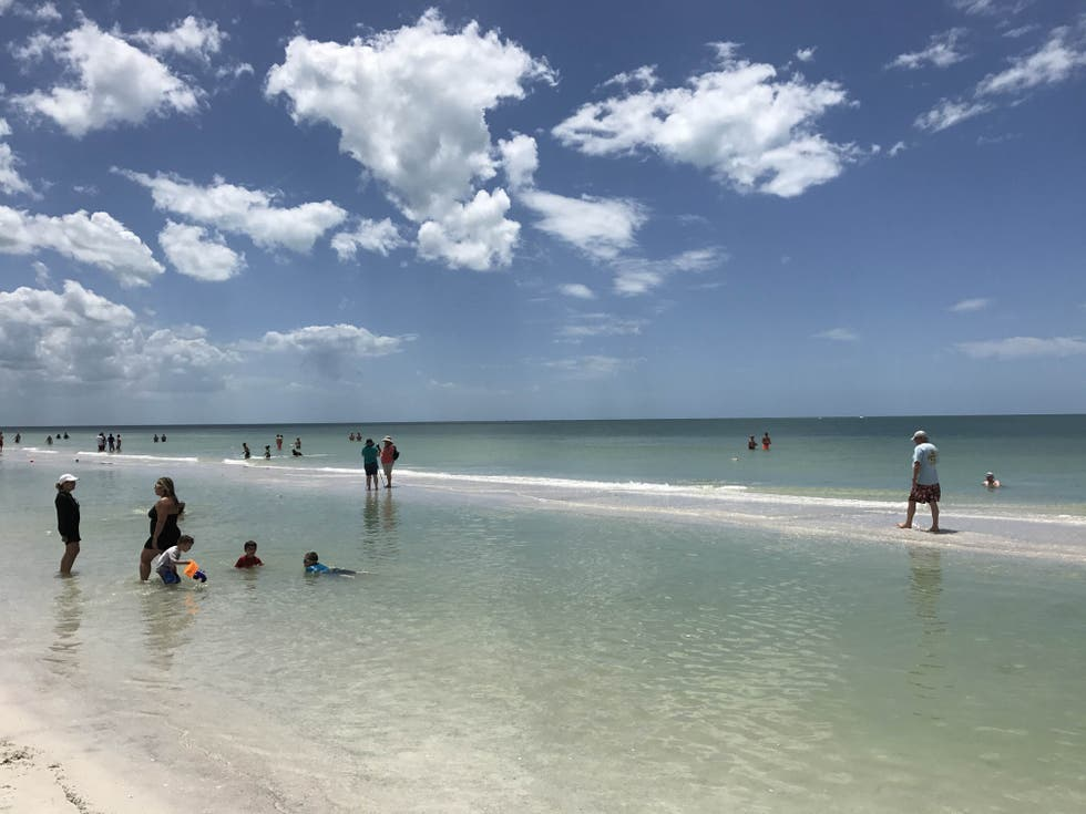 Spiaggia a Fort Myers Beach