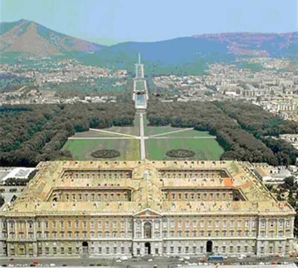 Emblemático en Palacio Real de Caserta