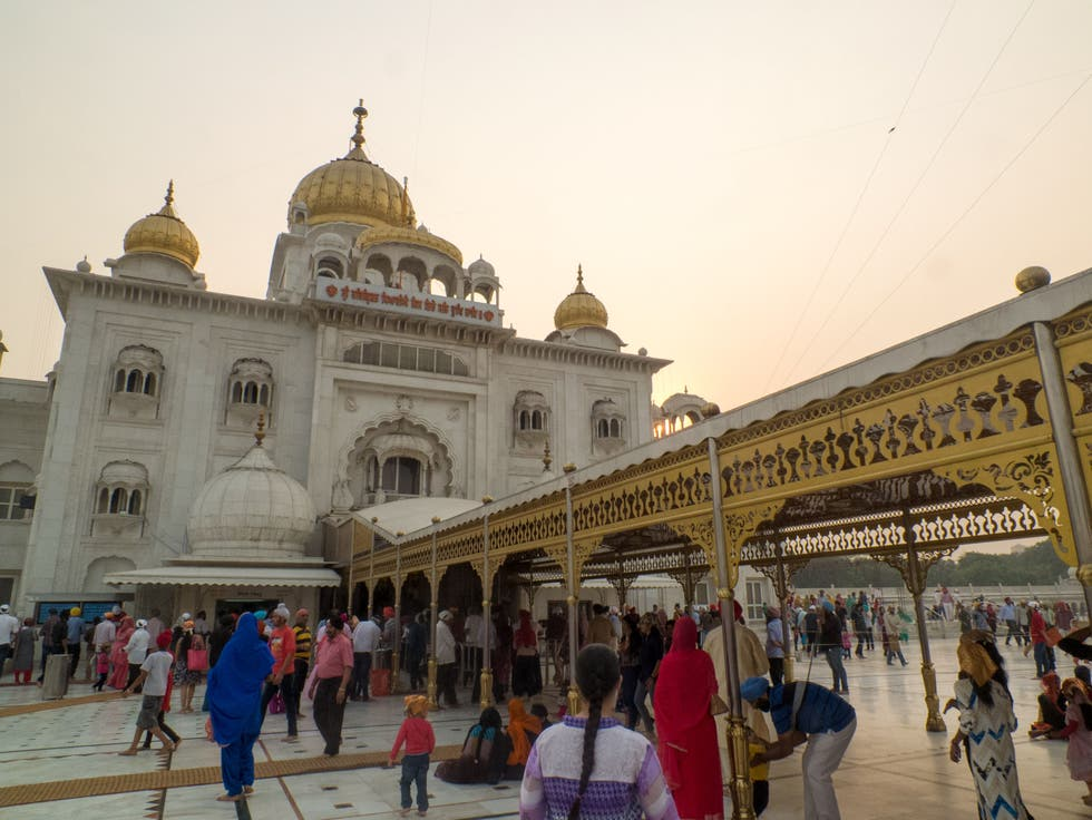 Ciudad en Gurdwara Bangla Sahib