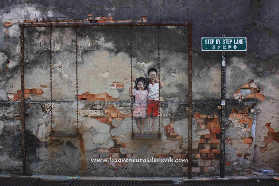 """Pared en """"Brother and Sister on a Swing"""" Art Work"""