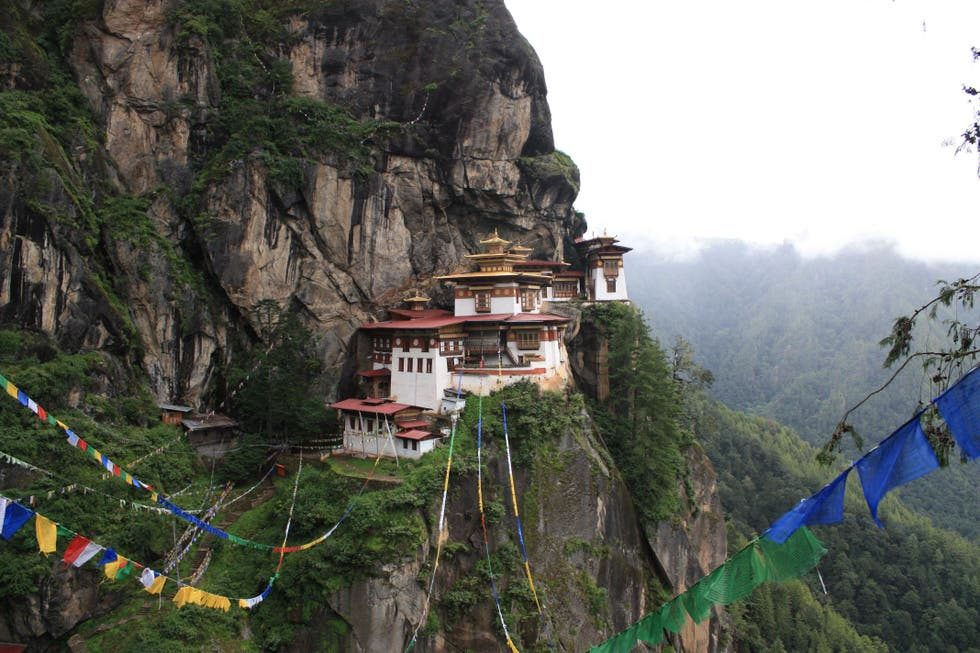 Mountain in Bhutan