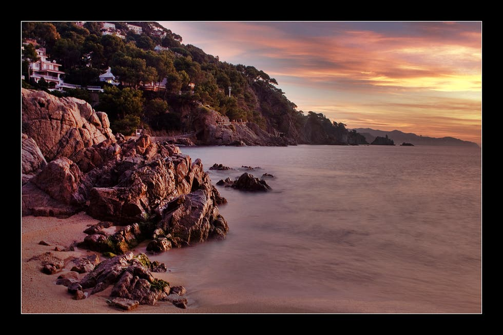 Sea in Blanes