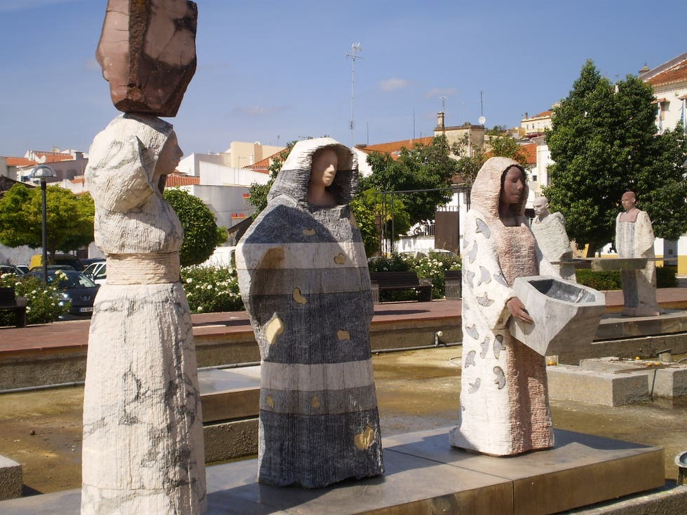 Estatua en Silves